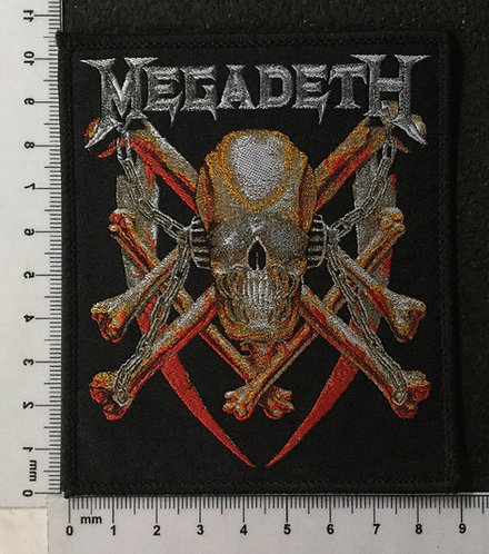 MEGADETH - KILLING IS MY BUSSINES WOVEN PATCH