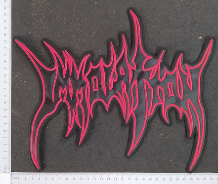 IMMORTAL - NEW LOGO EMBROIDERED BACK PATCH