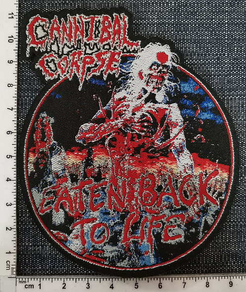 CANNIBAL CORPSE - Eaten Back to Life Woven Patch