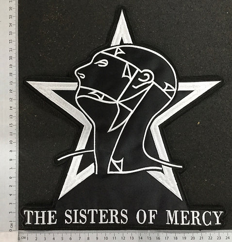 THE SISTERS OF MERCY - EMBROIDERED BACK PATCH