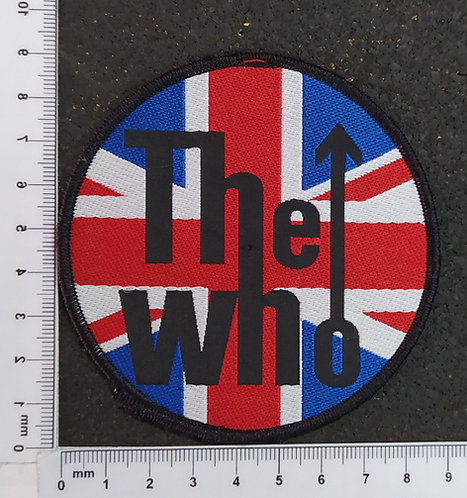THE WHO - CIRCLE WOVEN PATCH