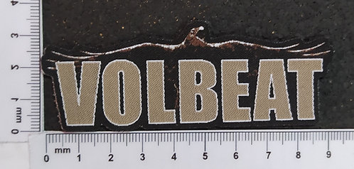 VOLBEAT - LOGO WOVEN PATCH