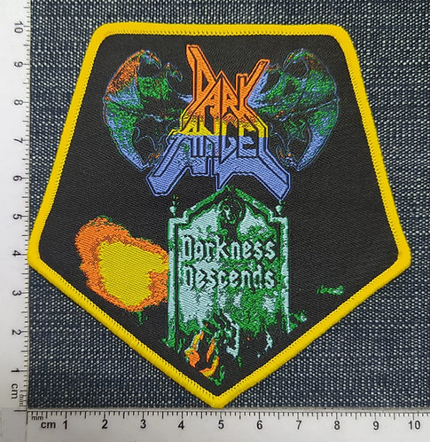 DARK ANGEL - DARKNESS DESCENDS WOVEN PATCH