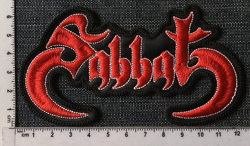SABBAT - JAPAN LOGO EMBROIDERED PATCH
