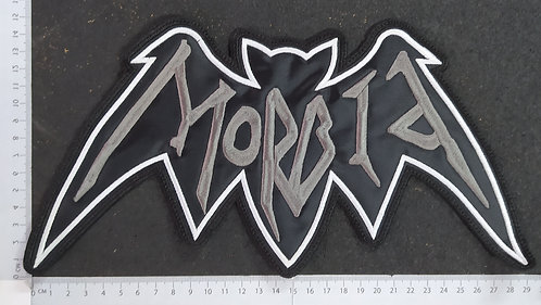 MORBID - BAT LOGO EMBROIDERED BACK PATCH