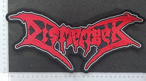 DISMEMBER - SHAPE LOGO BACK PATCH