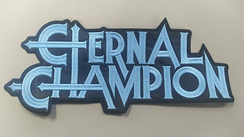 ETERNAL CHAMPION -LOGO EMBROIDERED BACK PATCH