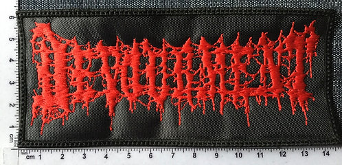 DEVOURMENT - LOGO EMBROIDERED PATCH