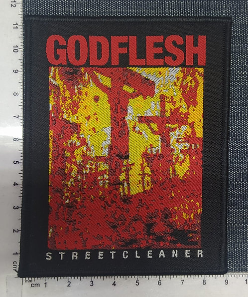 GODFLESH - STREETCLEANER WOVEN PATCH