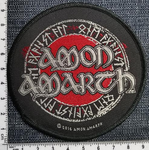 AMON AMARTH - Runes Circular Woven Patch
