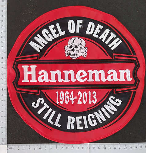 HANNEMAN - ANGEL OF DEATH EMBROIDERED BACK PATCH