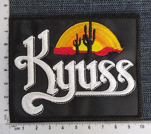 KYUSS - DESERT EMBROIDERED PATCH