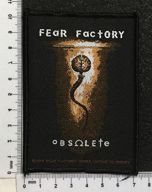 FEAR FACTORY - OBSOLETE WOVEN PATCH