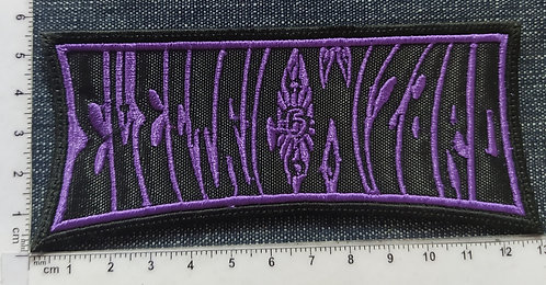 ELECTRIC WIZARD - OUTLINES LOGO EMBROIDERED PATCH