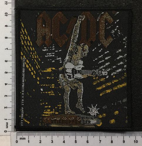 AC/DC - STIFF UPPER LIP WOVEN PATCH