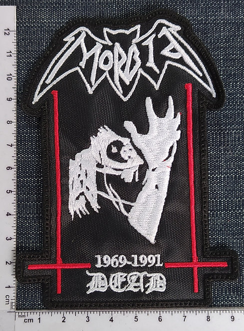 MORBID - DEAD EMBROIDERED PATCH