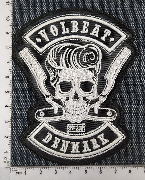 VOLBEAT - DENMARK EMBROIDERED PATCH