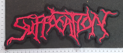 SUFFOCATION - LOGO EMBROIDERED BACKPATCH