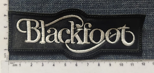 BLACKFOOT - RECTANGLE EMBROIDERED PATCHE