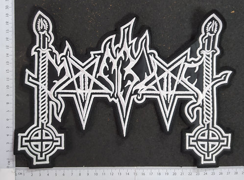 MOONBLOOD - LOGO EMBROIDERED BACK PATCH