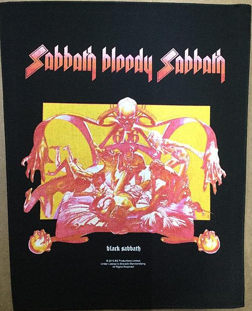 BLACK SABBTH - Sabbath Bloody Sabbath Back Patch
