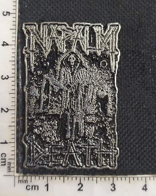 NAPALM DEATH - DEATH CARRYING Metal Pin