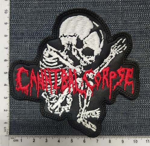 CANNIBAL CORPSE - FETUS SHAPED EMBROIDERED PATCH