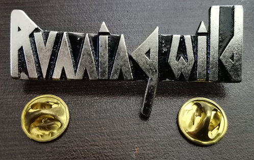 RUNNING WILD - LOGO Metal Pin
