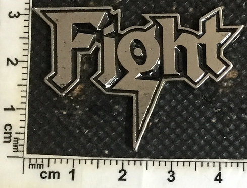 FIGHT - LOGO METAL PIN