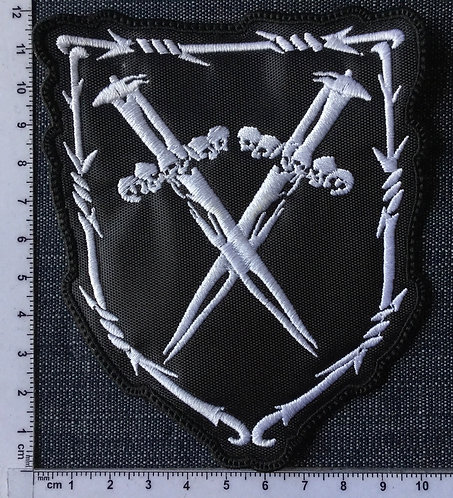 REVENGE - SWORDS EMBROIDERED PATCH