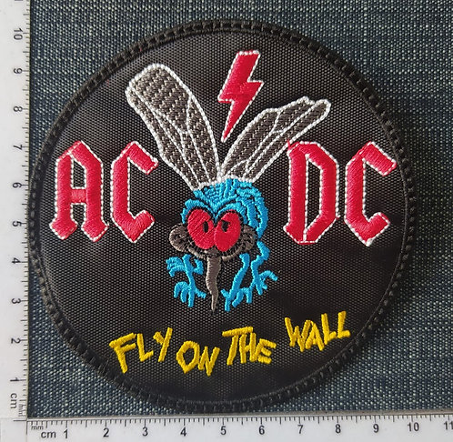 AC/DC - FLY ON THE WALL EMBROIDERED PATCH