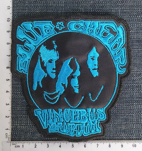 BLUE CHEER - SHAPE VINCEBUS LOGO EMBROIDERED PATCH
