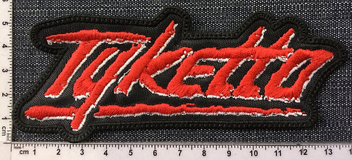 TYKETTO - LOGO EMBROIDERED PATCH