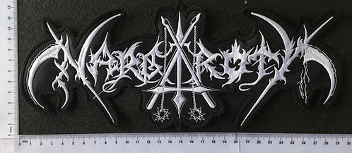 NARGAROTH - EMBROIDERED BACK PATCH