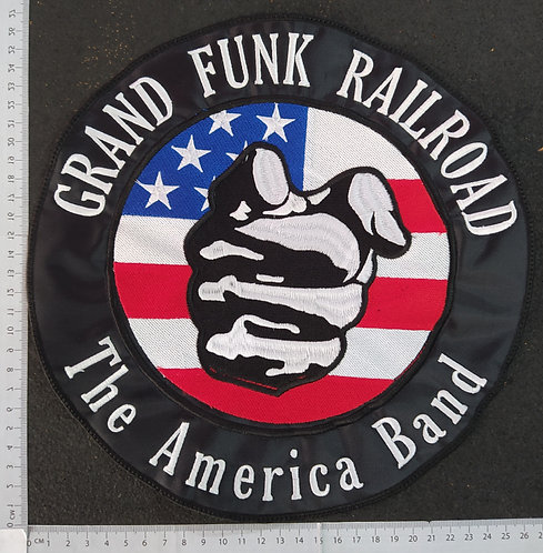 GRAND FUNK RAILROAD  - AMERICAN BAND EMBROIDERED Back Patch