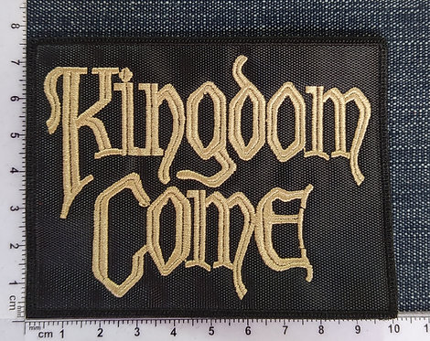 KINGDOM COME - LOGO EMBROIDERED PATCH