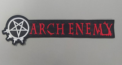 ARCH ENEMY - LOGO SYMBOL EMBROIDERED PATCH
