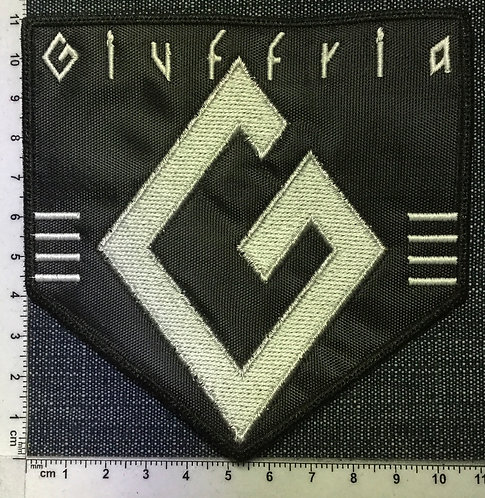 GIUFFRIA - LOGO EMBROIDERED PATCH
