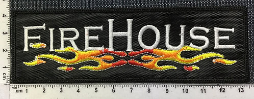 FIRE HOUSE - LOGO EMBROIDERED PATCH
