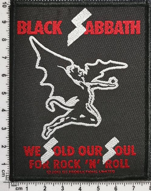 BLACK SABBATH - We Sold Our Soul... Woven Patch
