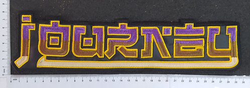JOURNEY - LOGOEMBROIDERED BACKPATCH