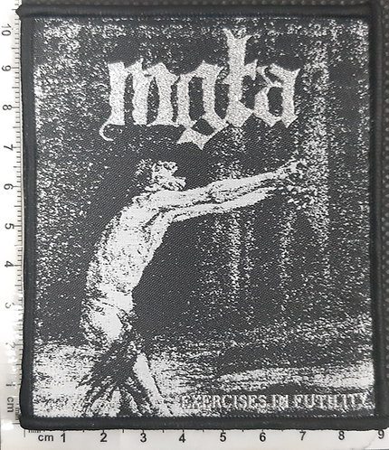 MGLA - EXERCISES IN FUTILITY WOVEN PATCH