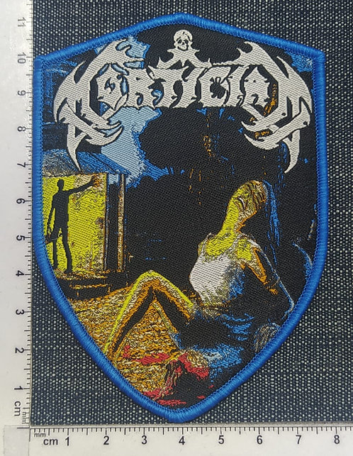 MORTICIAN - CHAINSAW DISMEMBERMENT WOVEN PATCH