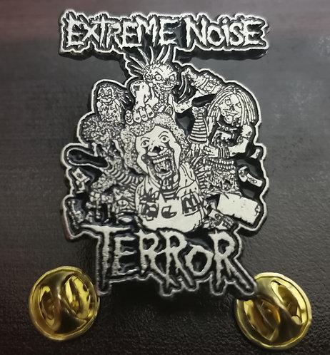 EXTREME NOISE TERROR - METAL PIN