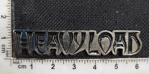 HEAVY LOAD - LOGO METAL PIN