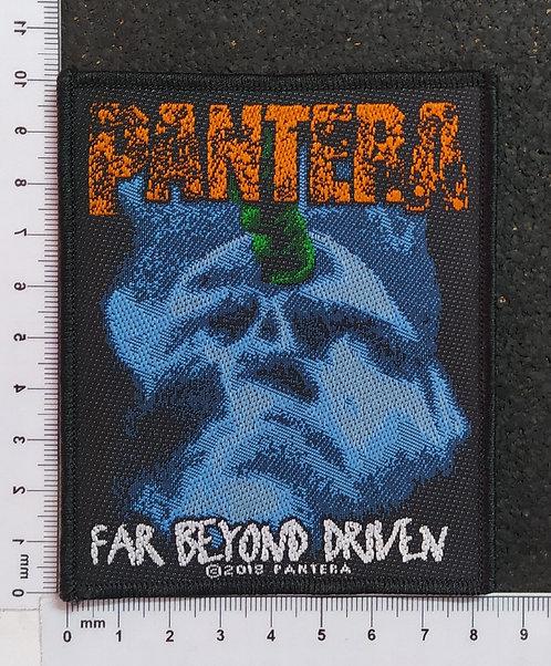 PANTERA - FAR BEYOND DRIVEN WOVEN PATCH