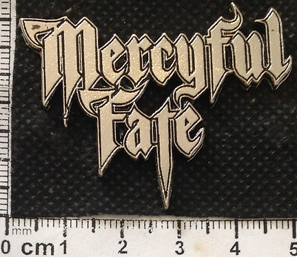 MERCYFUL FATE - LOGO Metal Pin