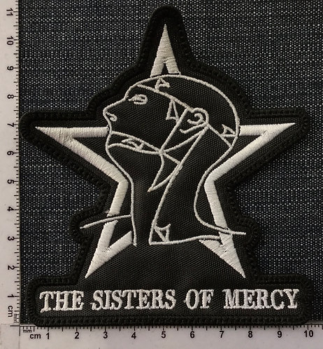THE SISTERS OF MERCY - STAR EMBROIDERED PATCH