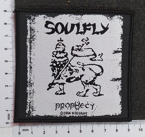 SOULFLY - PROPHECY WOVEN PATCH