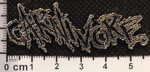 CARNIVORE - Metal Pin